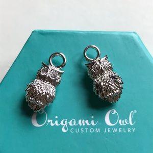 OWL earring drops